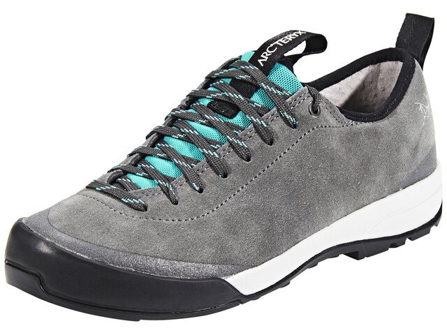 Arc'teryx Acrux SL Leather Approach Shoes Women Titan/Bora Bora